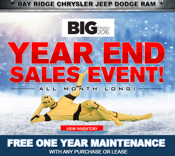 Bay Ridge Chrysler Jeep Dodge | Year End Sales Event